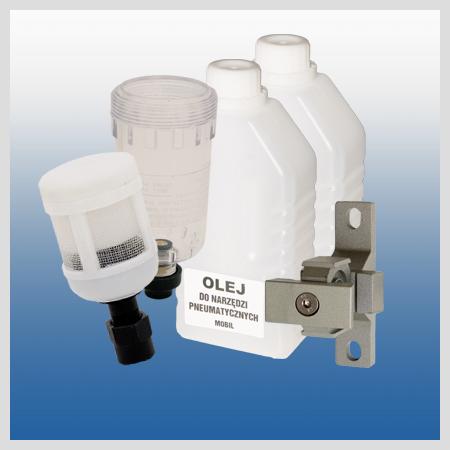 Akcesoria i olej narzędziowy
