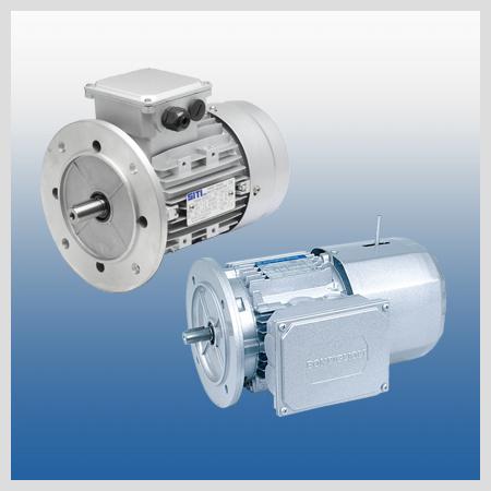motoreduktory, silniki elektryczne