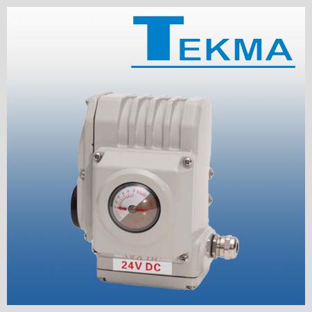 Siłowniki elektryczne firmy TEKMA
