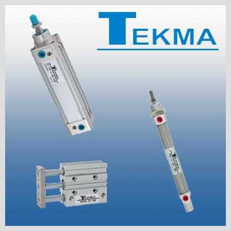 Siłowniki pneumatyczne firmy TEKMA